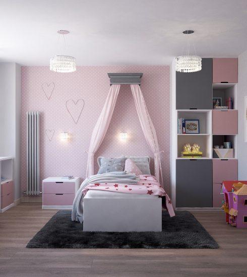 Bedroom For Girl Children S Room  - Victoria_Borodinova / Pixabay