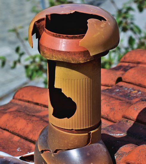 Fireplace Chimney Roof Hail Damage  - Capri23auto / Pixabay